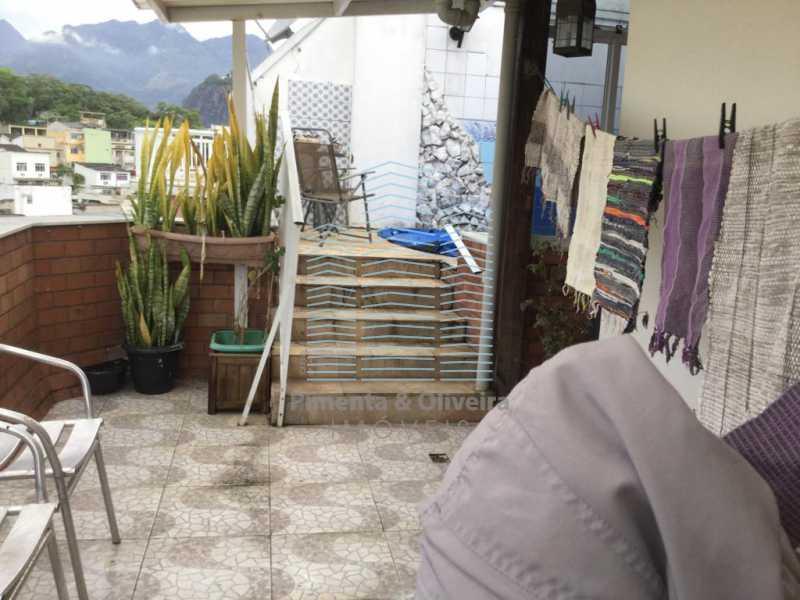 20 - Cobertura 4 quartos. Pechincha-Jacarepaguá. - POCO40030 - 21