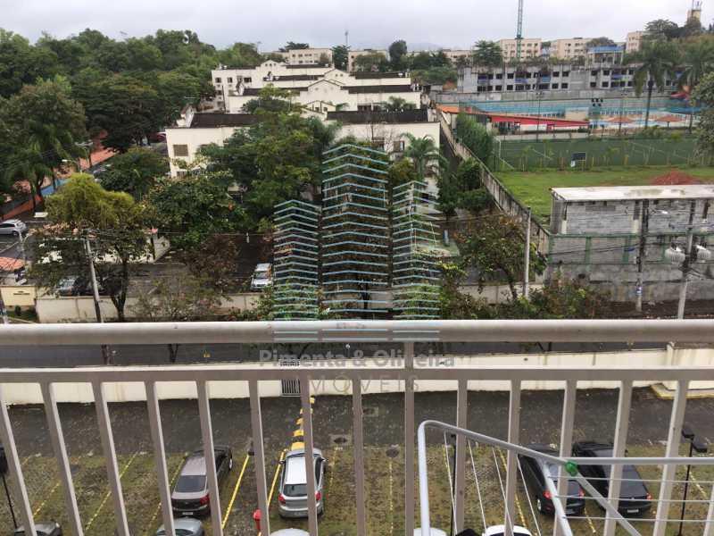 04 - Apartamento. Taquara Jacarepaguá. - POAP20712 - 6