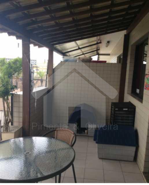 Área Externa Coberta - Excelente cobertura Freguesia - Jacarepaguá. - POCO30008 - 10