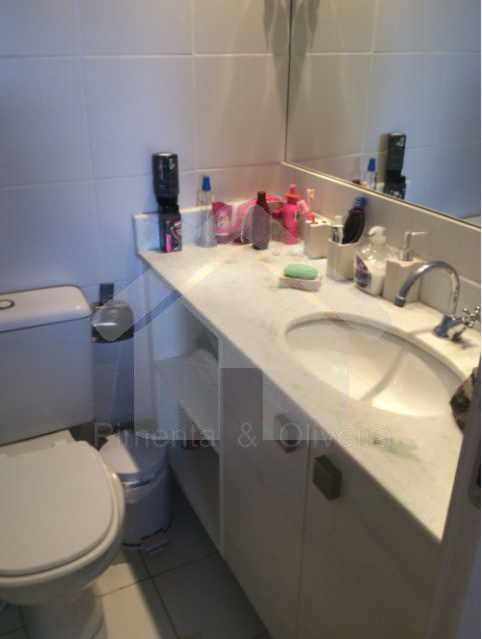 Banheiro Quarto Suite - Cobertura Freguesia Jacarepaguá. - POCO30008 - 16