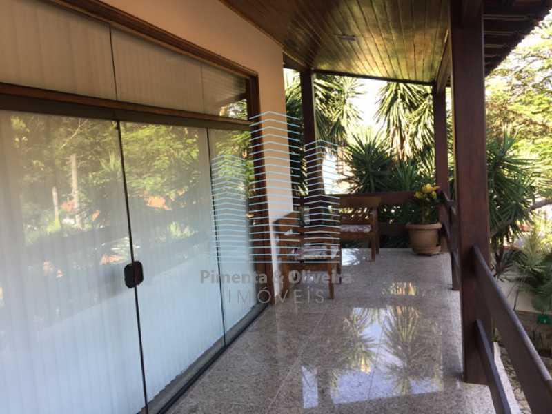 VARANDA FRONTAL. - Casa em Condominio À VENDA, Freguesia (Jacarepaguá), Rio de Janeiro, RJ - POCN40049 - 10