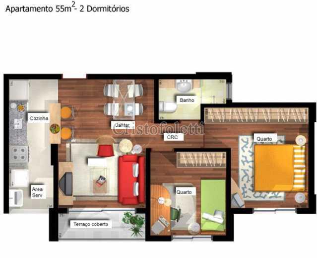 55m2 - Fachada - East Side Condominium Club - 20 - 2