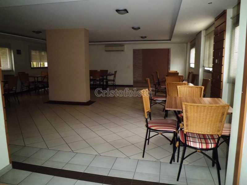 Salão de festas  com copa/bar - Fachada - Condomínio Edifício Palm Beach - 47 - 8