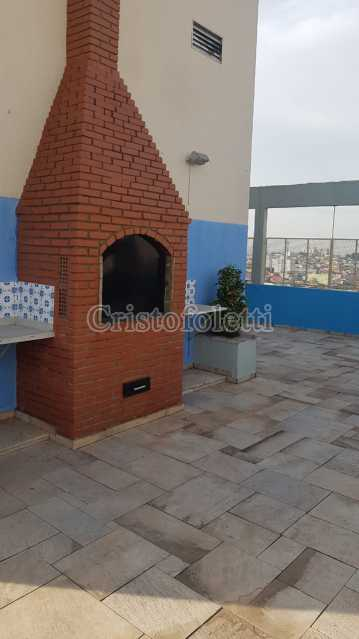 Churrasqueira superior - Fachada - Condomínio Edifício Alessandra - 66 - 8