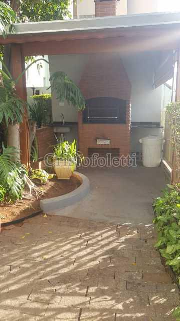 Churrasqueira do salão de fest - Fachada - Condomínio Edifício Alessandra - 66 - 4