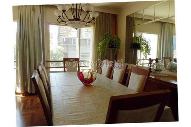 3 - Apartamento Para Venda ou Aluguel no Condomínio Edifício Milan - São Paulo - SP - Cerqueira César - ISVE0001 - 1