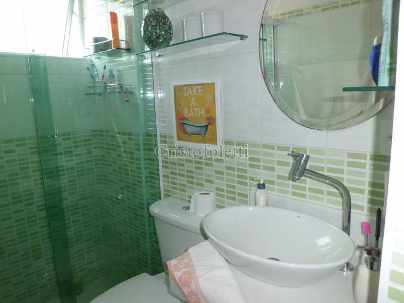 Banheiro social - Apartamento À Venda no Condomínio Residencial Tuim - São Paulo - SP - Jardim da Saúde - ISVE0066 - 15