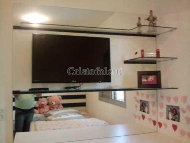 Dormitório com ponto para TV. - Apartamento À VENDA, Sacomã, São Paulo, SP - CAVE0011 - 8