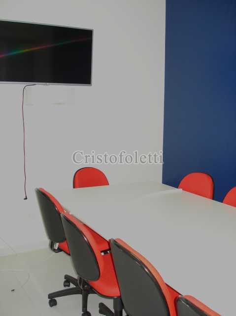 Sala 4 - mobiliário e TV - Casa comercial reformada na Vila Mariana - ISVL0082 - 9