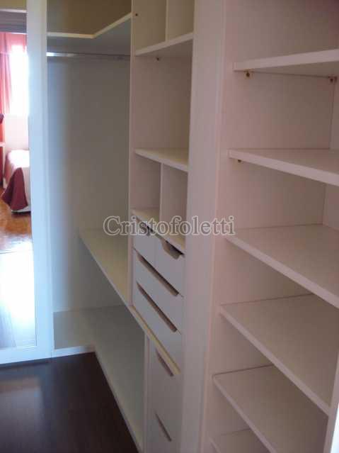 Walk-in-closet - APARTAMENTO 2 DORMITORIOS NA VILA CLEMENTINO - ISLO0084 - 12