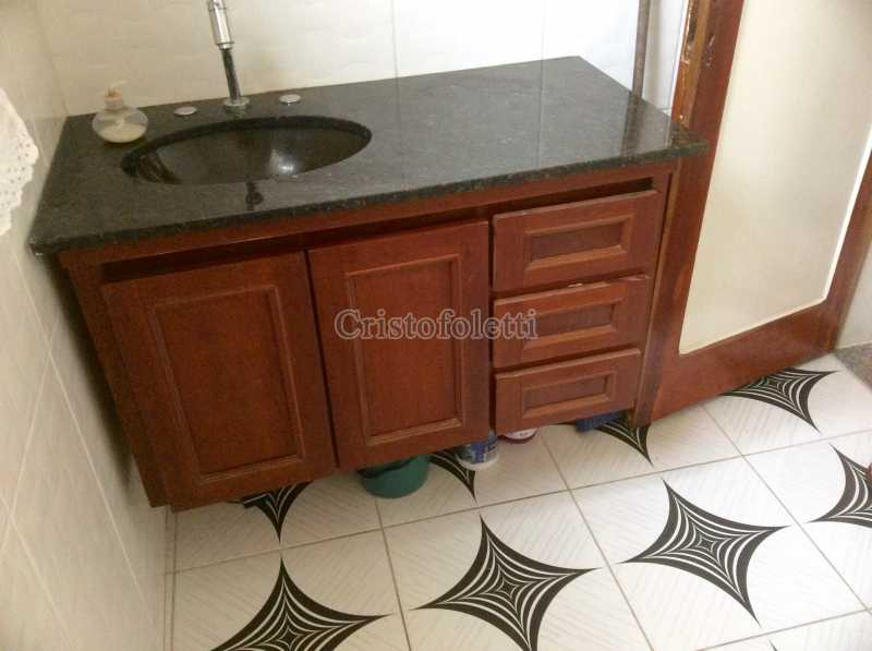 Banheiro social - Sobrado para vender na Vila Mariana - ISVE0090 - 9