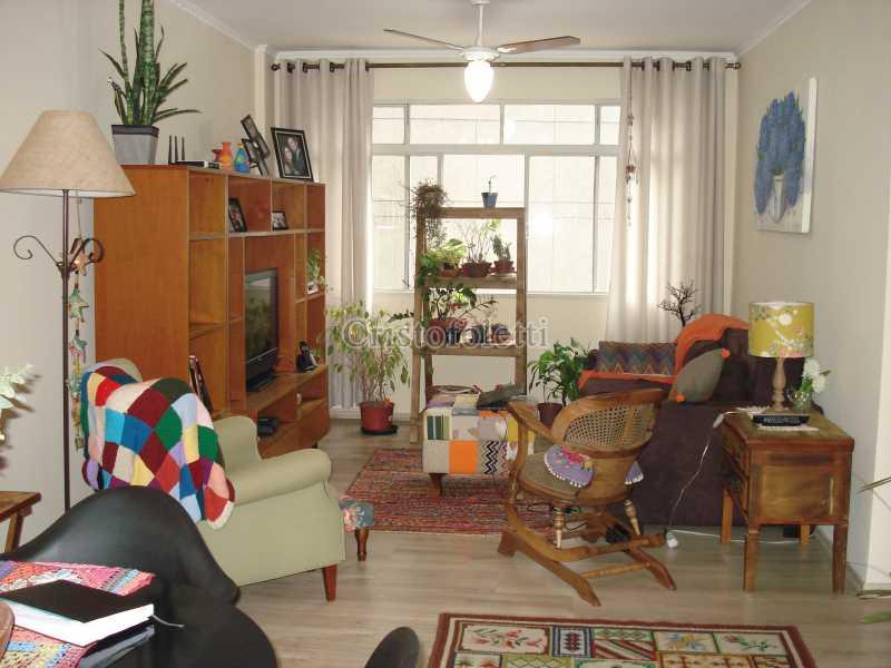 Sala ampla para 2 ambientes - Apartamento para venda na Bela Vista - ISVE0094 - 1