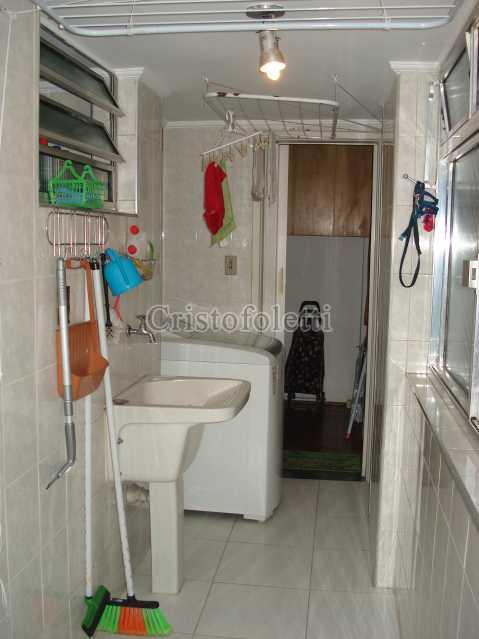 Área de serviço espaçosa - Apartamento para venda na Bela Vista - ISVE0094 - 17