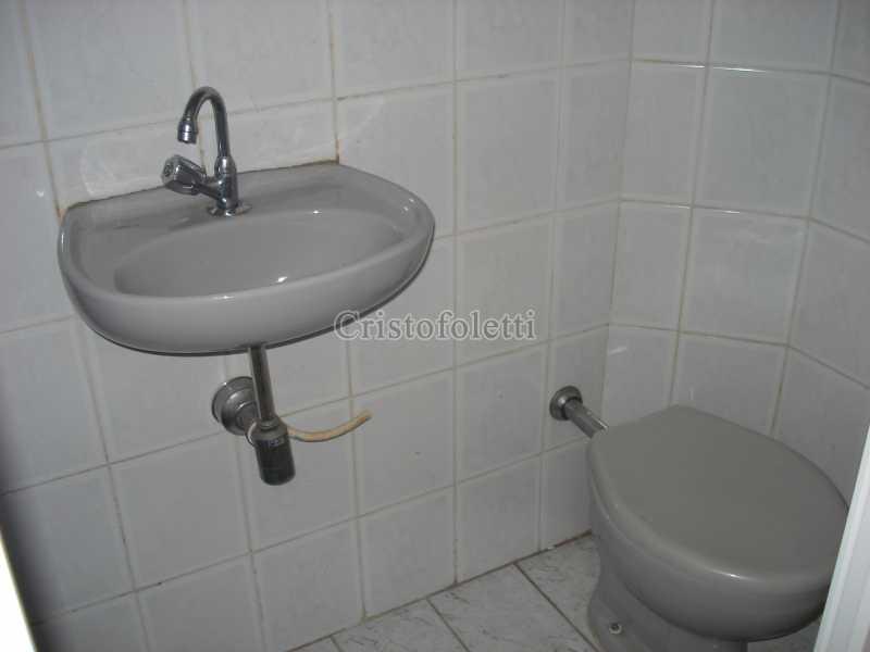 Banheiro de serviço - Apartamento para venda na Bela Vista - ISVE0094 - 19