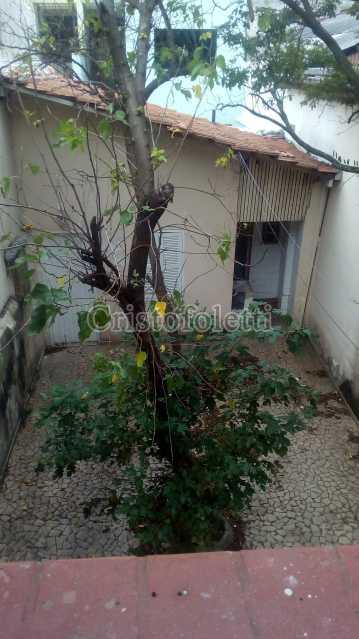 quintal descoberto e edícula - Sobrado para alugar com 2 dormitórios na Vila Mariana - ISLO0095 - 14