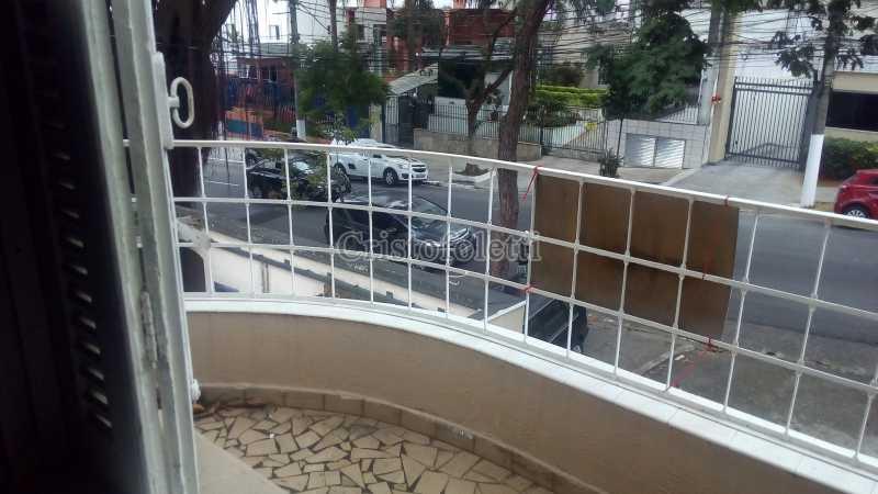 Varanda superior - Sobrado para alugar com 2 dormitórios na Vila Mariana - ISLO0095 - 1