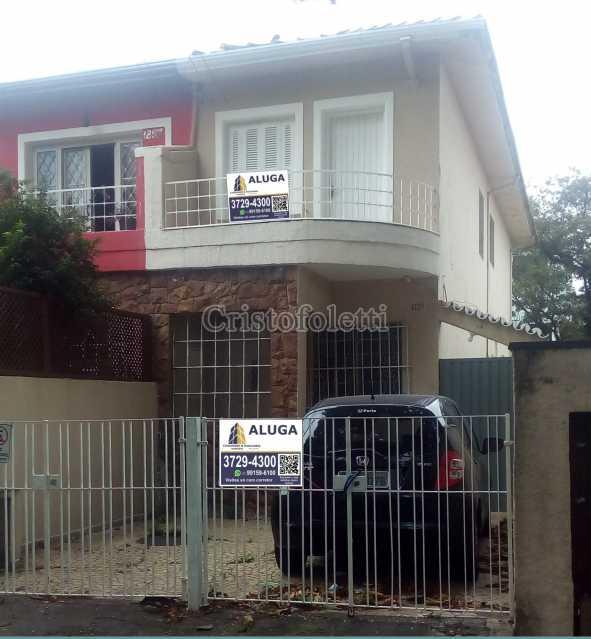 fachada - Sobrado para alugar com 2 dormitórios na Vila Mariana - ISLO0095 - 3