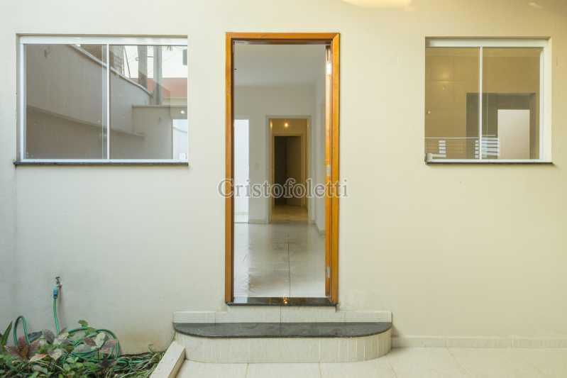 Acesso interno - Casa nova 3 dormitórios suíte 2 vagas e área gourmet Piracicamirim - ISVE0097 - 4