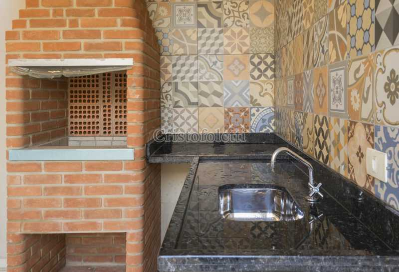 Área gourmet - Casa nova 3 dormitórios suíte 2 vagas e área gourmet Piracicamirim - ISVE0097 - 8