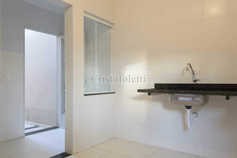Cozinha / lavanderia - Casa nova 3 dormitórios suíte 2 vagas e área gourmet Piracicamirim - ISVE0097 - 13