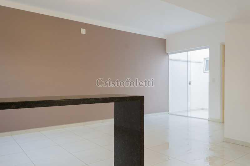 Sala / área de luz - Casa nova 3 dormitórios suíte 2 vagas e área gourmet Piracicamirim - ISVE0097 - 14