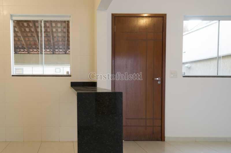 Bancada cozinha - Casa nova 3 dormitórios suíte 2 vagas e área gourmet Piracicamirim - ISVE0097 - 15