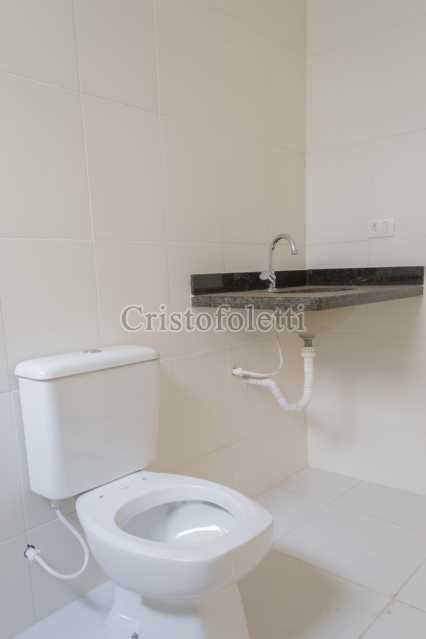Banho social - Casa nova 3 dormitórios suíte 2 vagas e área gourmet Piracicamirim - ISVE0097 - 23