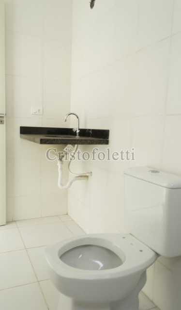 Banho suíte - Casa nova 3 dormitórios suíte 2 vagas e área gourmet Piracicamirim - ISVE0097 - 28