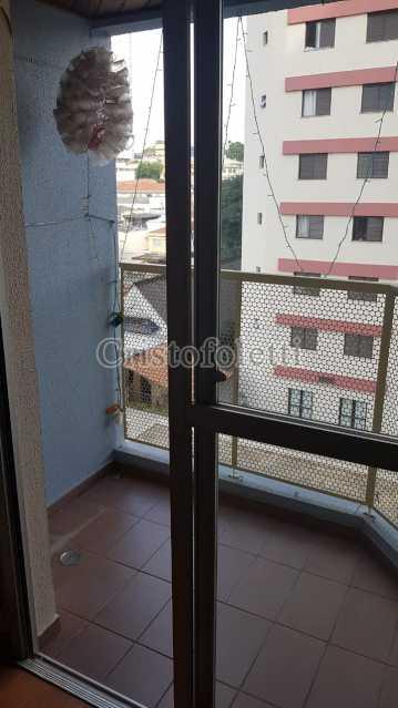Terraço - Apartamento 2 dormitórios próximo ao metrô Sacomã - ISVE0098 - 1