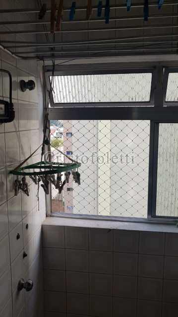 Área de serviço - Apartamento 2 dormitórios próximo ao metrô Sacomã - ISVE0098 - 15