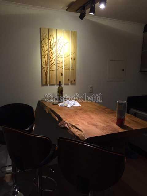Bancada marcenaria artesanal - The Special Residence Flat Moema Rua Tuim Ibirapuera - ISVE0099 - 3