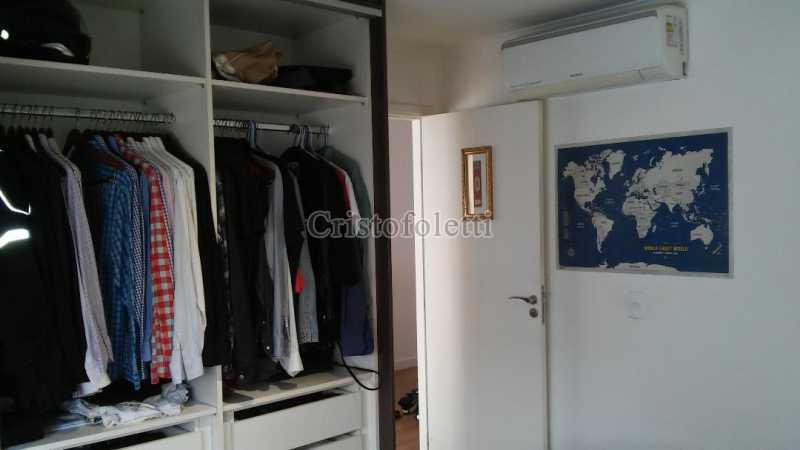 Dormitório com ar condicionado - The Special Residence Flat Moema Rua Tuim Ibirapuera - ISVE0099 - 11