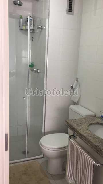 Banho com box - The Special Residence Flat Moema Rua Tuim Ibirapuera - ISVE0099 - 14