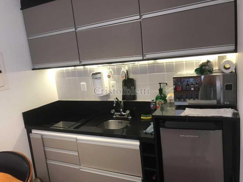 Cozinha planejada - The Special Residence Flat Moema Rua Tuim Ibirapuera - ISVE0099 - 5