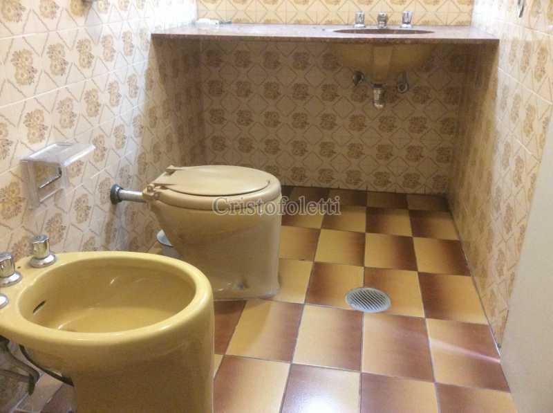 Banho suíte - Apartamento 3 dormitórios metrô Santa Cruz - ISLO0100 - 8