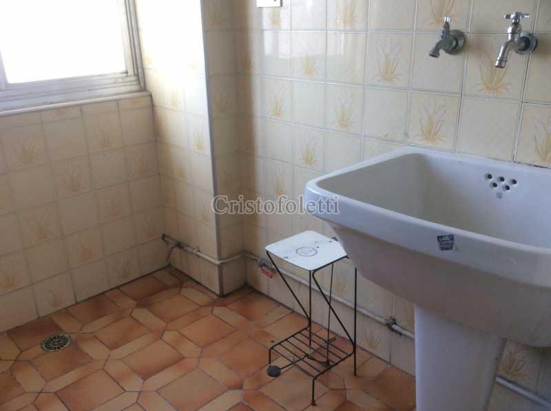 Área de serviço - Apartamento 3 dormitórios metrô Santa Cruz - ISLO0100 - 15