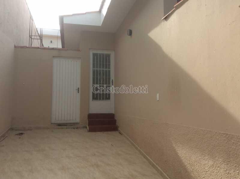 Fachada - Casa 2 dormitórios para alugar Vila São José Itu - ISLO0102 - 1