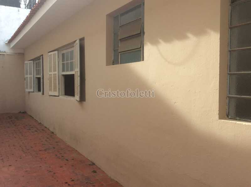 Fachada lateral - Casa 2 dormitórios para alugar Vila São José Itu - ISLO0102 - 4