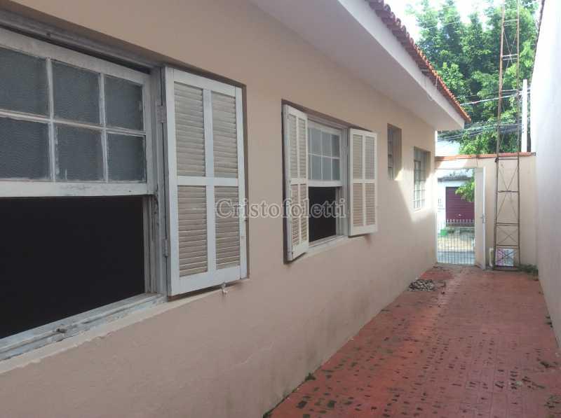 Fachada lateral - Casa 2 dormitórios para alugar Vila São José Itu - ISLO0102 - 5