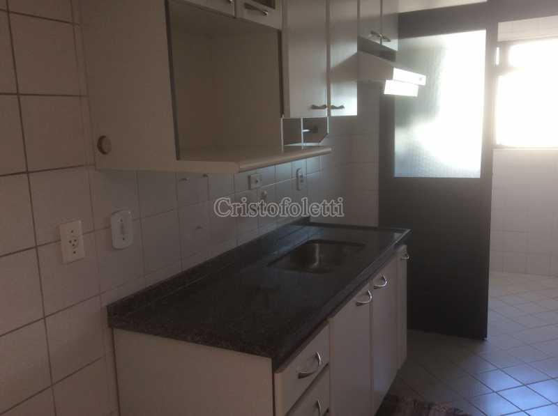 cozinha e area de serviço - 3 dormitórios com suíte, 2 vagas, depósito, lazer completo, metrô Saúde, À venda - ISVE0109 - 7