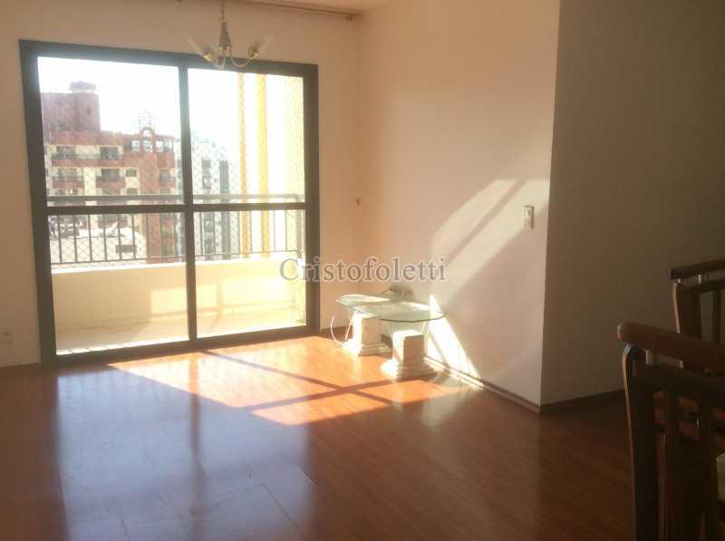 sala e terraço - 3 dormitórios com suíte, 2 vagas, depósito, lazer completo, metrô Saúde, À venda - ISVE0109 - 1