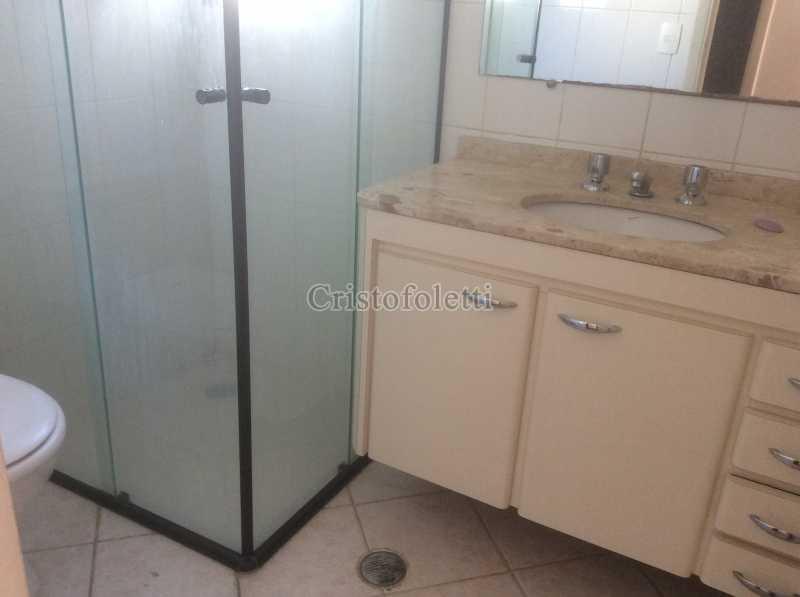 banho social - 3 dormitórios com suíte, 2 vagas, depósito, lazer completo, metrô Saúde, À venda - ISVE0109 - 9