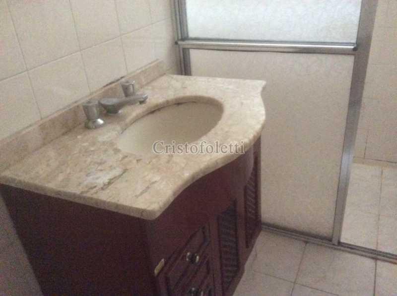Banheiro social - Apartamento para aluguel no metrô Santana, 2 dormitórios - ISLO0109 - 7