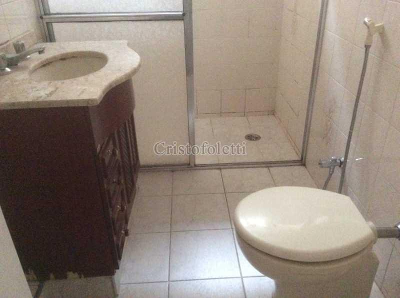 Banheiro social - Apartamento para aluguel no metrô Santana, 2 dormitórios - ISLO0109 - 10