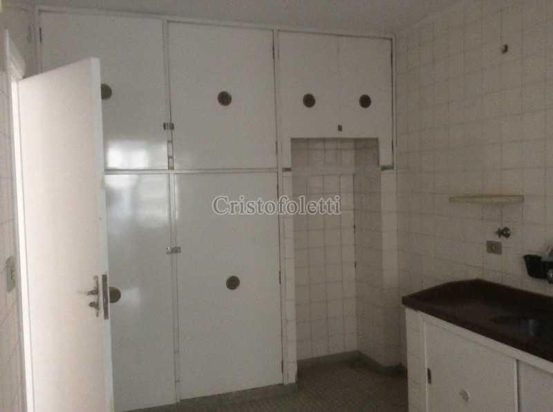 Cozinha com armários - Apartamento para aluguel no metrô Santana, 2 dormitórios - ISLO0109 - 16