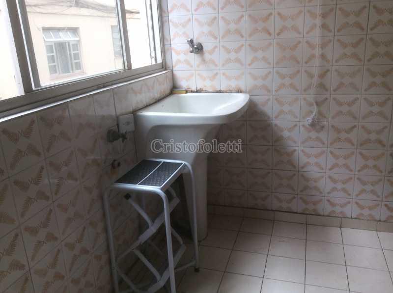Terraço de serviço - Apartamento para aluguel no metrô Santana, 2 dormitórios - ISLO0109 - 18
