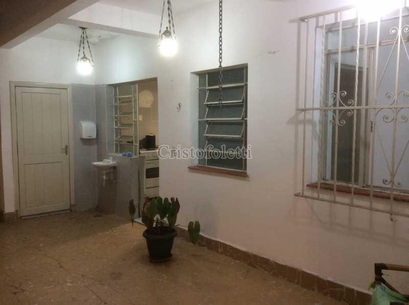 Quintal coberto - Apartamento 2 dormitórios amplo próximo ao metrô Praça da Árvore - ISLO0111 - 5