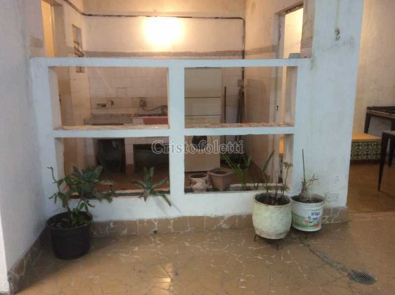 Quintal e lavanderia - Apartamento 2 dormitórios amplo próximo ao metrô Praça da Árvore - ISLO0111 - 3