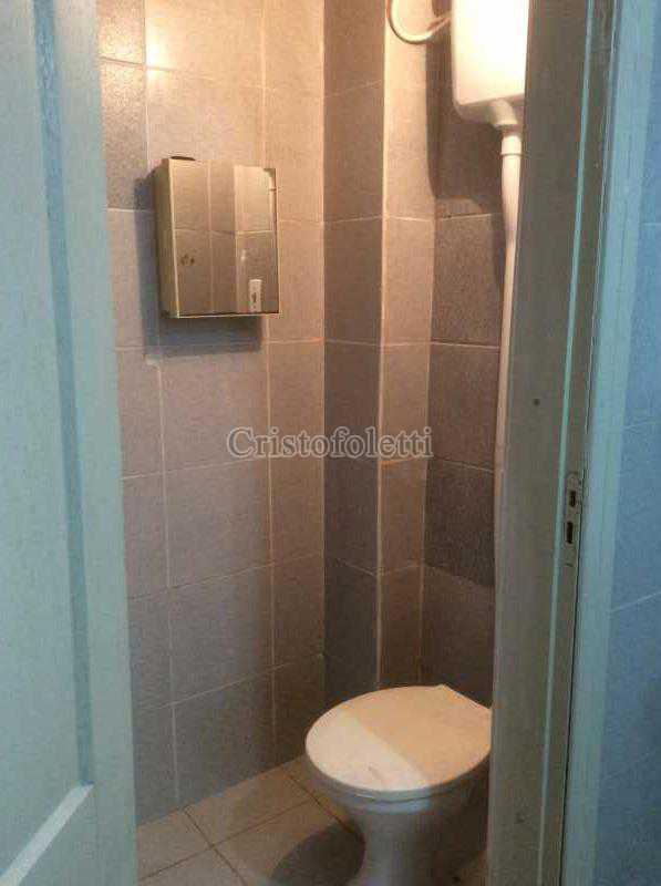 Banheiro de serviço - Apartamento 2 dormitórios amplo próximo ao metrô Praça da Árvore - ISLO0111 - 15