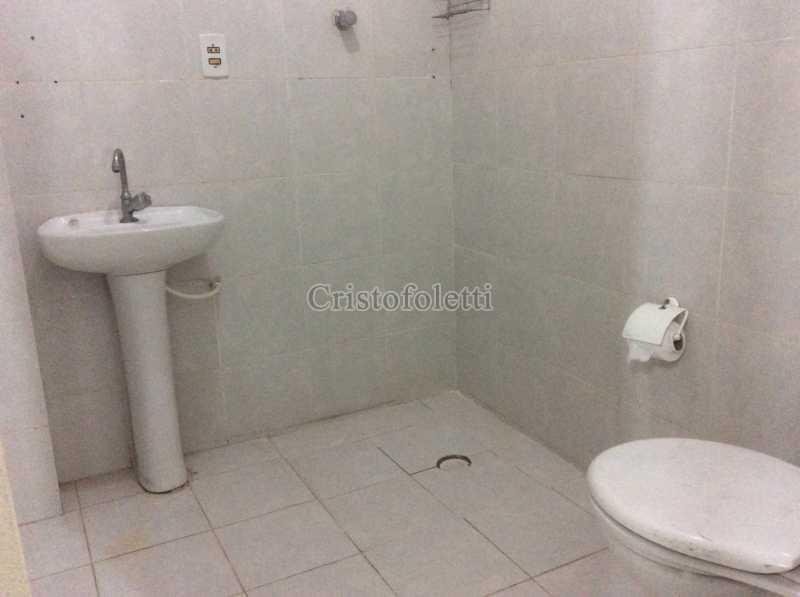 Banheiro suíte - Apartamento 2 dormitórios amplo próximo ao metrô Praça da Árvore - ISLO0111 - 17